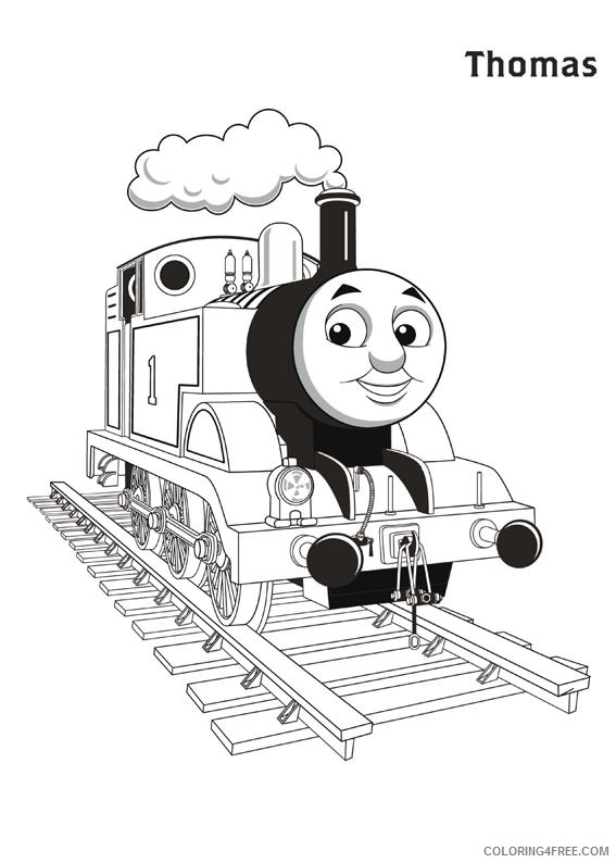 thomas and friends coloring pages thomas the train Coloring4free