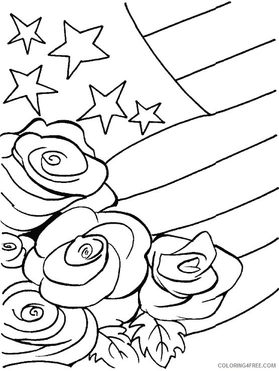 veterans day coloring pages free Coloring4free