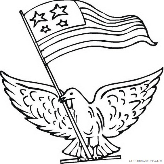 veterans day coloring pages free to print Coloring4free