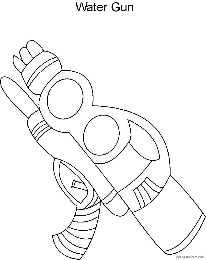 water gun coloring pages Coloring4free