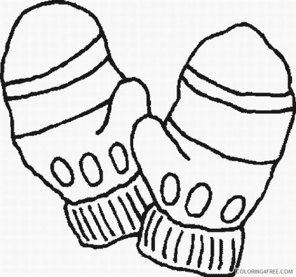 winter coloring pages for preschoolers Coloring4free