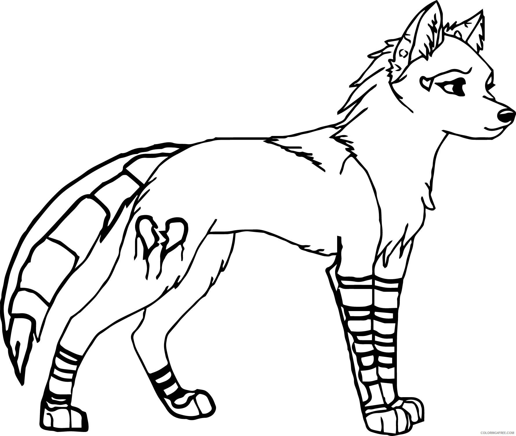wolf coloring pages female Coloring4free