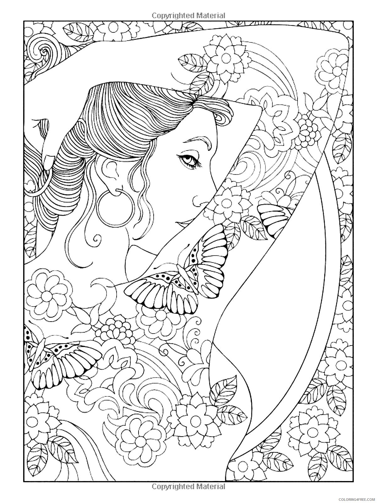 women tattoo coloring pages Coloring4free